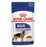 Royal Canin Паучи для собак крупных пород в соусе (Maxi Adult) (140 г)